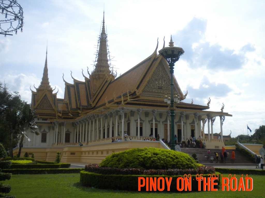 The Royal Palace in Phnom Penh