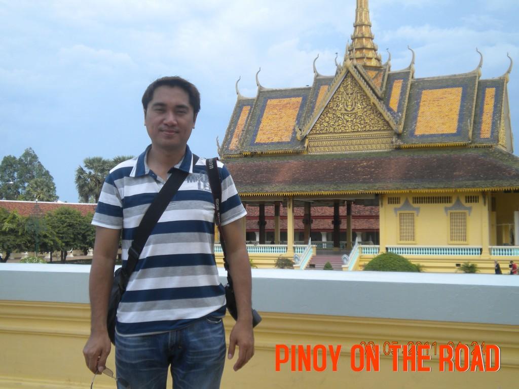 The Royal Palace in Phnom Penh