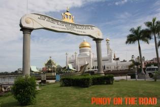 The Golden Mosque of Sultan Omar Ali Saifuddien