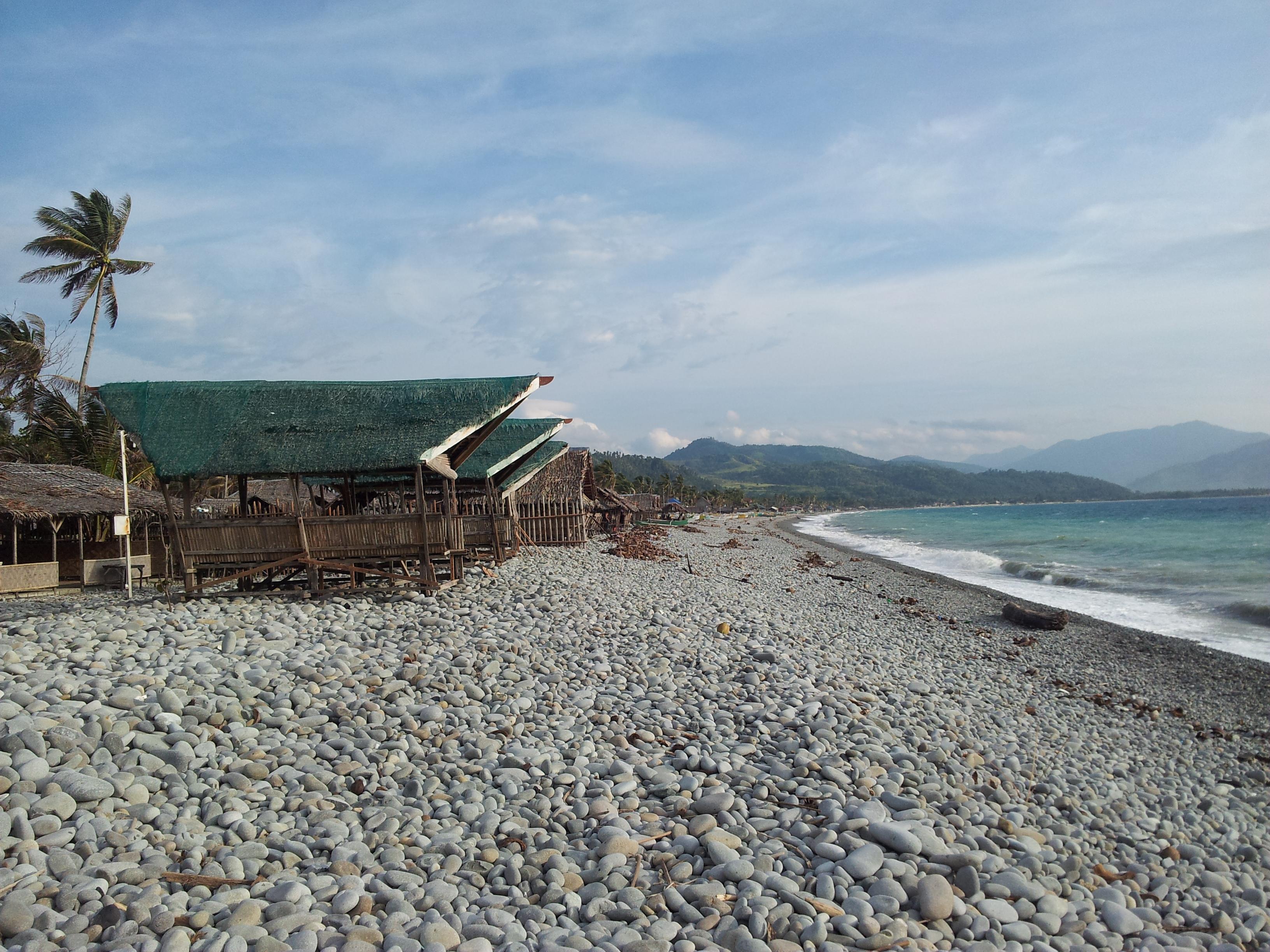 The Unique Mabua Pebble Beach Of Surigao City Pinoyontheroad