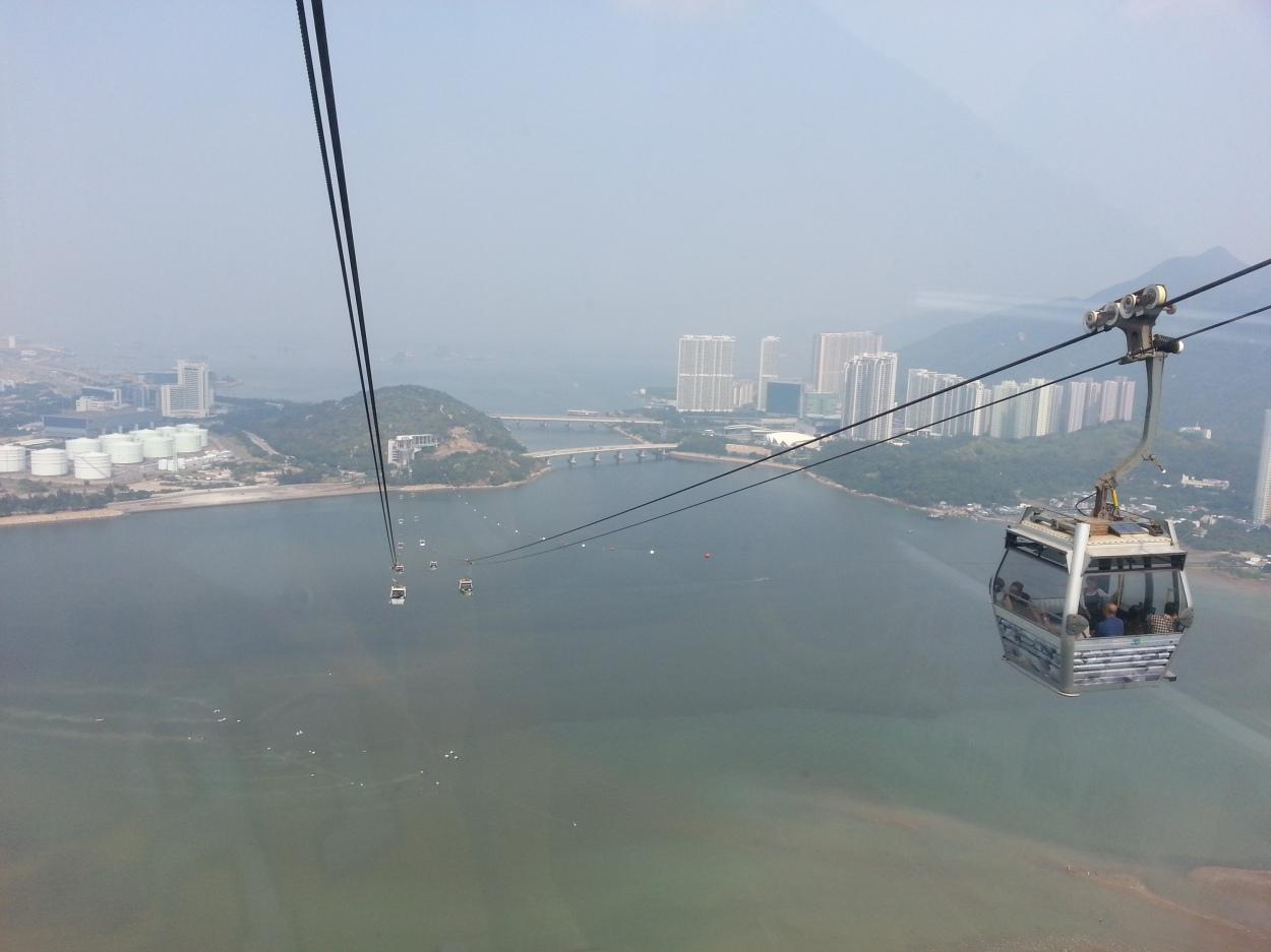 Hong Kong | What To Do in Hong Kong | Ngong Ping Cable Car Ride