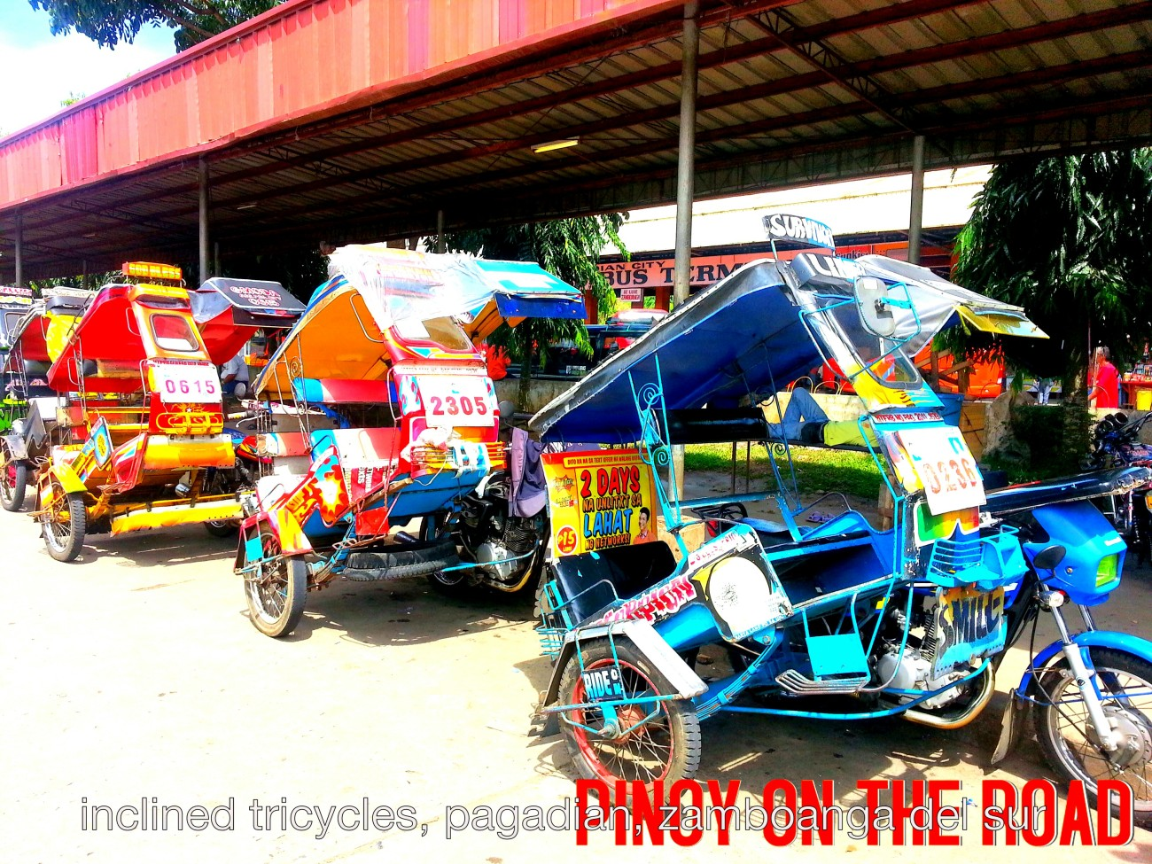 inclined tricycles of pagadian