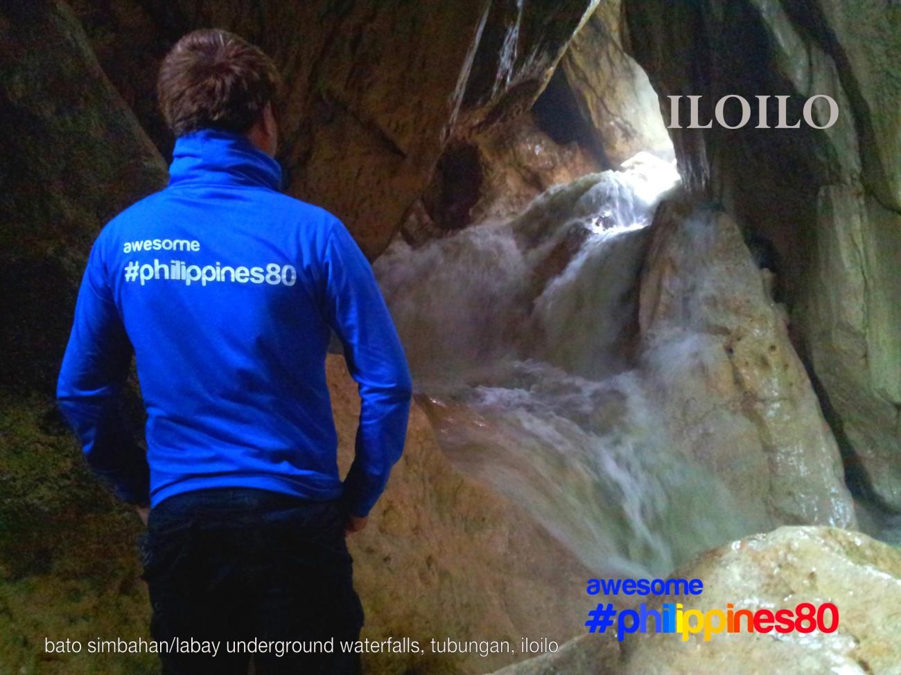 Bato SImbahan Underground Waterfalls