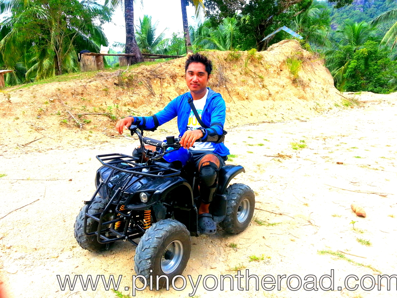 atv ride, more fun in the philippines