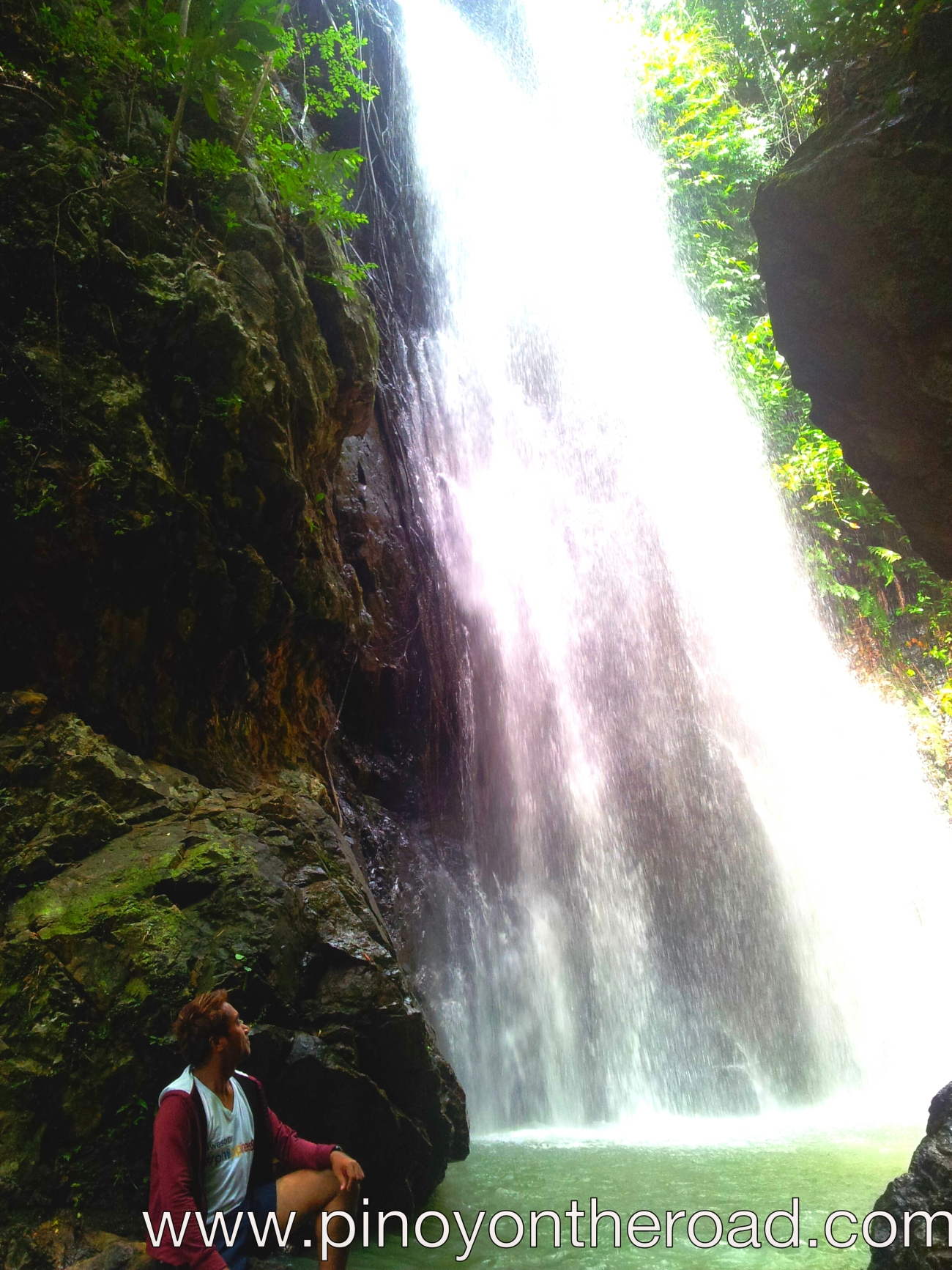 water falling, more fun in the philippines