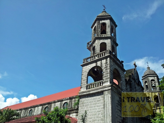 The century old Church of Saint John the Baptist in Calamba