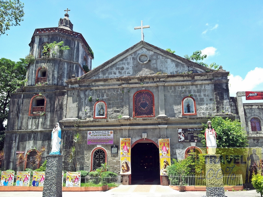 The century old Church of St Agustine in Bay, Laguna