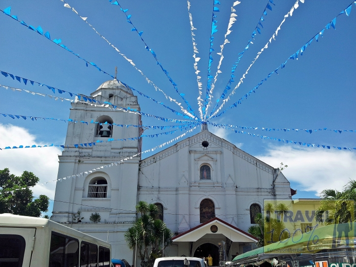 The century old Church of Our Lady of Guadalupe in Pagsanjan, Laguna