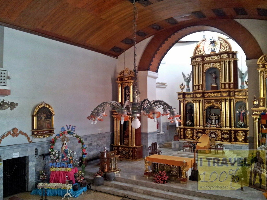 The century old Church of San Sebastian in Lumban, Laguna