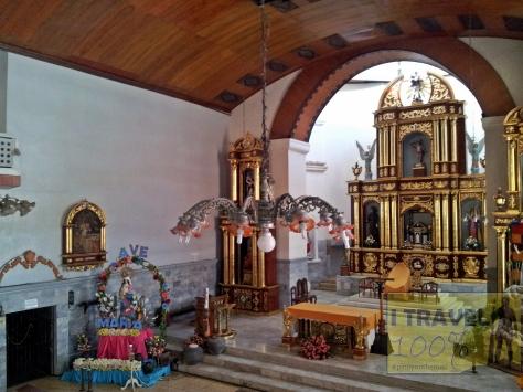 The century old Church of San Sebastian in Lumban, Laguna