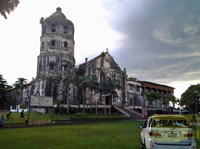 The century old Church of Mary Magdalene in Magdalena, Laguna