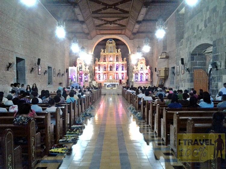 The century old Church of Saint John the Baptist in Liliw, Laguna