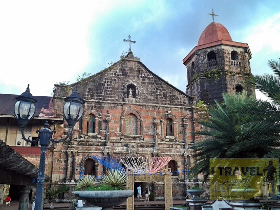 The century old Church of St Bartholomew the Apostle in Nagcarlan, Laguna