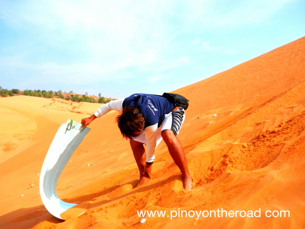 Vietnam | Sand Boarding at Red Dunes | What to See and Do in Saigon | Photo Essay