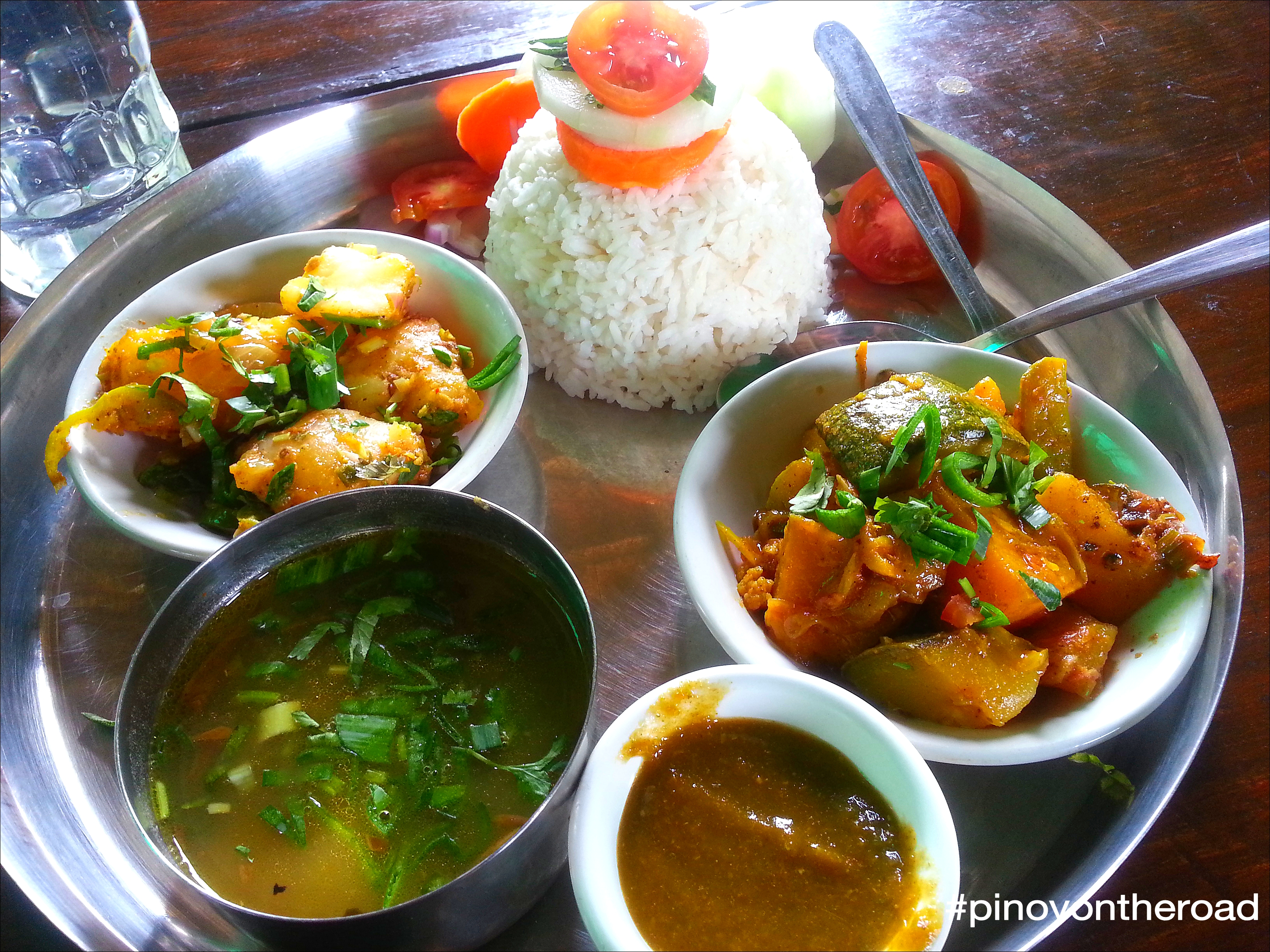 dal bhat is nepal's national dish – pinoyontheroad