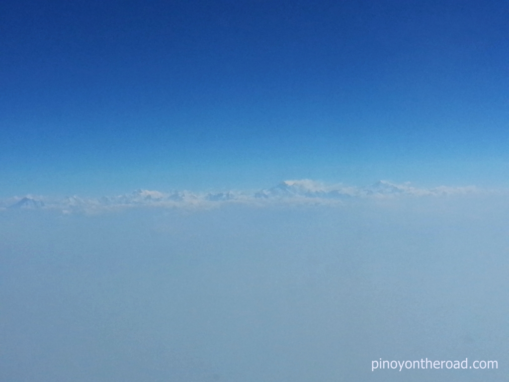 Nepal | Enroute to Kathmandu From Kuala Lumpur | Onboard Air Asia X | Photo Essay