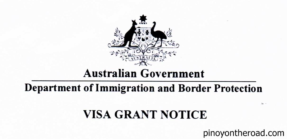 Australian Tourist Visa For Filipinos Pinoyontheroad