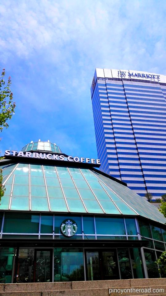 Starbucks Famille Park in Seoul, South Korea