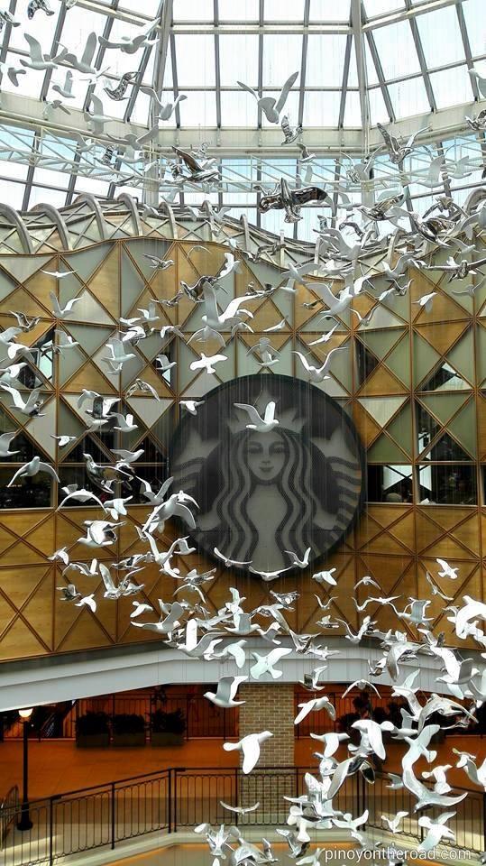 Starbucks Famille Park in Seoul, South Korea