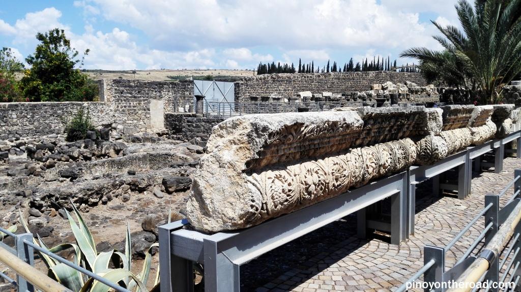 Ruins at Capernaum
