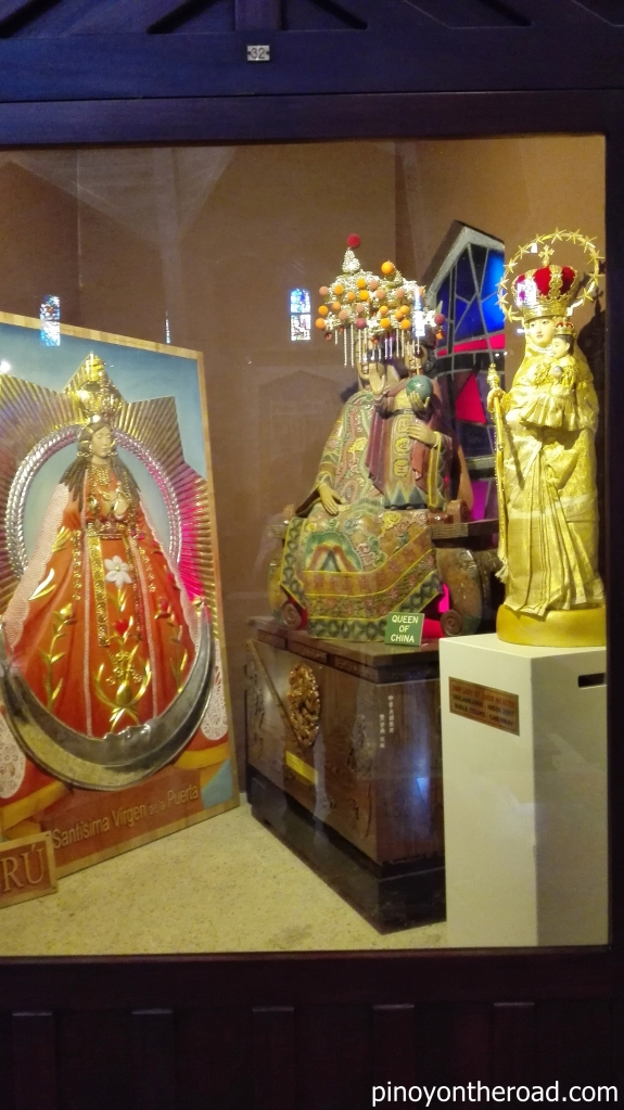 Marian Images of Annunciation from Peru, China and India