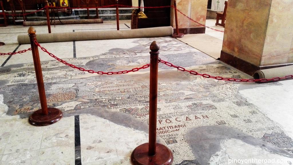 Madaba Floor Mosaic Map