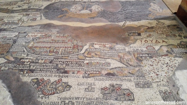 Madaba Floor Mosaic Map