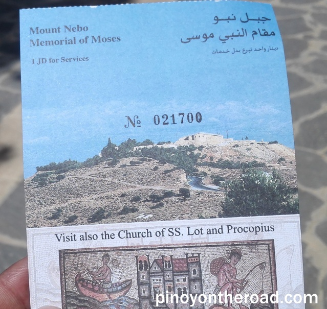 Mt. Nebo Entrance Ticket