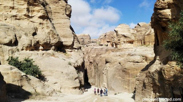 Entrance to the Siq, Petra