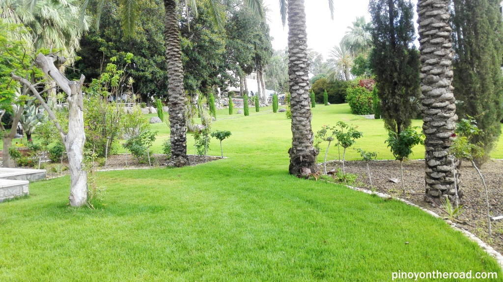 One of the many garden in Mt of Beatitudes