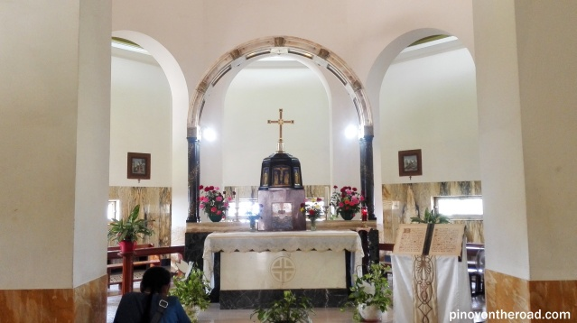 Main altar of the Church of Mt of Beatitudes