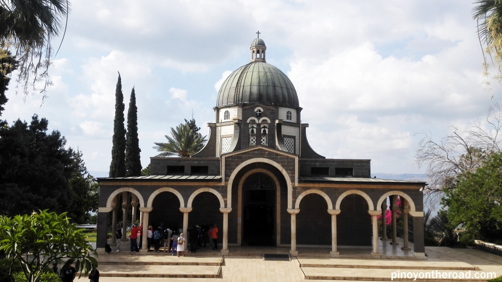 Church of Mt of Beatitudes